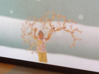 Human Tree fractals exhibit at MoMath