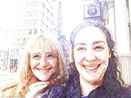 CC and me, NYC