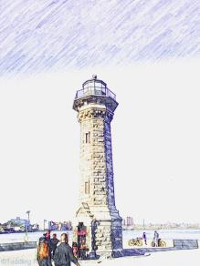 Roosevelt Island - North Point Lighthouse