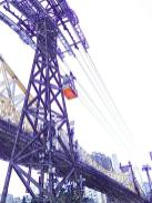 Roosevelt Island - Tram cables - Queensboro Bridge