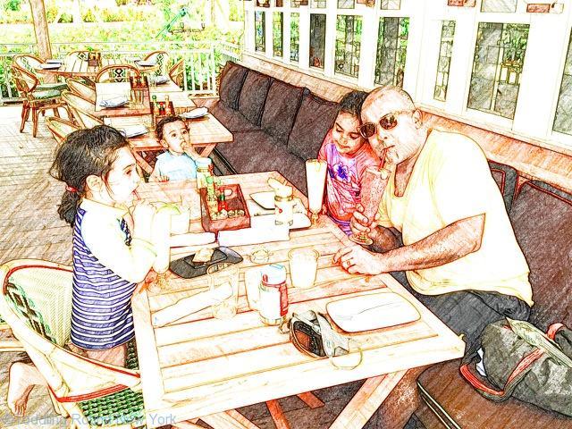 Cayman - Kimpton Seafire - beach restaurant Coccoloba
