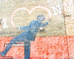 I love NY graffiti - Leaving New York