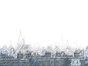 Leaving New York - New York sky line