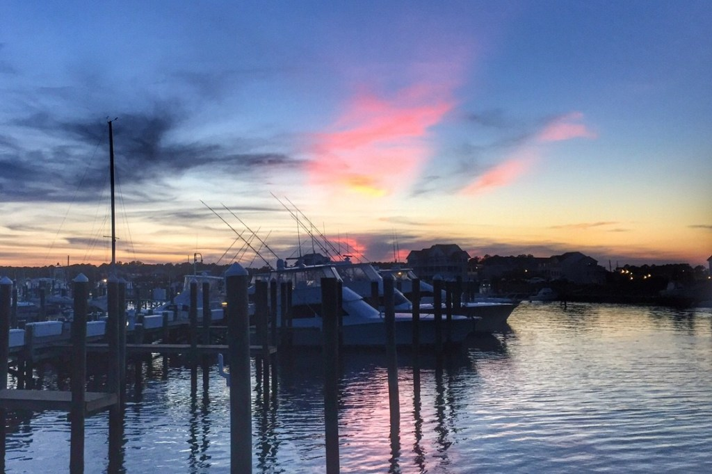 Sunset Marina West Ocean City MD Toddling Traveler