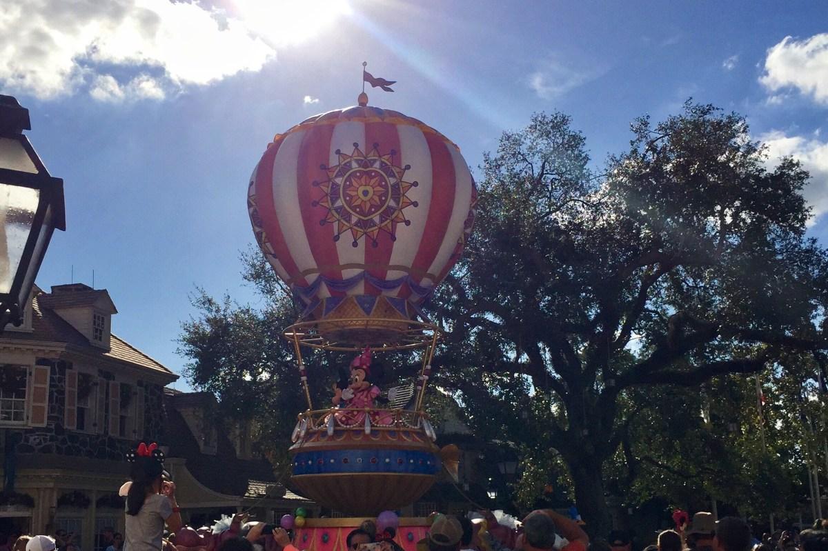 One Day in Disney World Magic Kingdom Parade Toddling Traveler