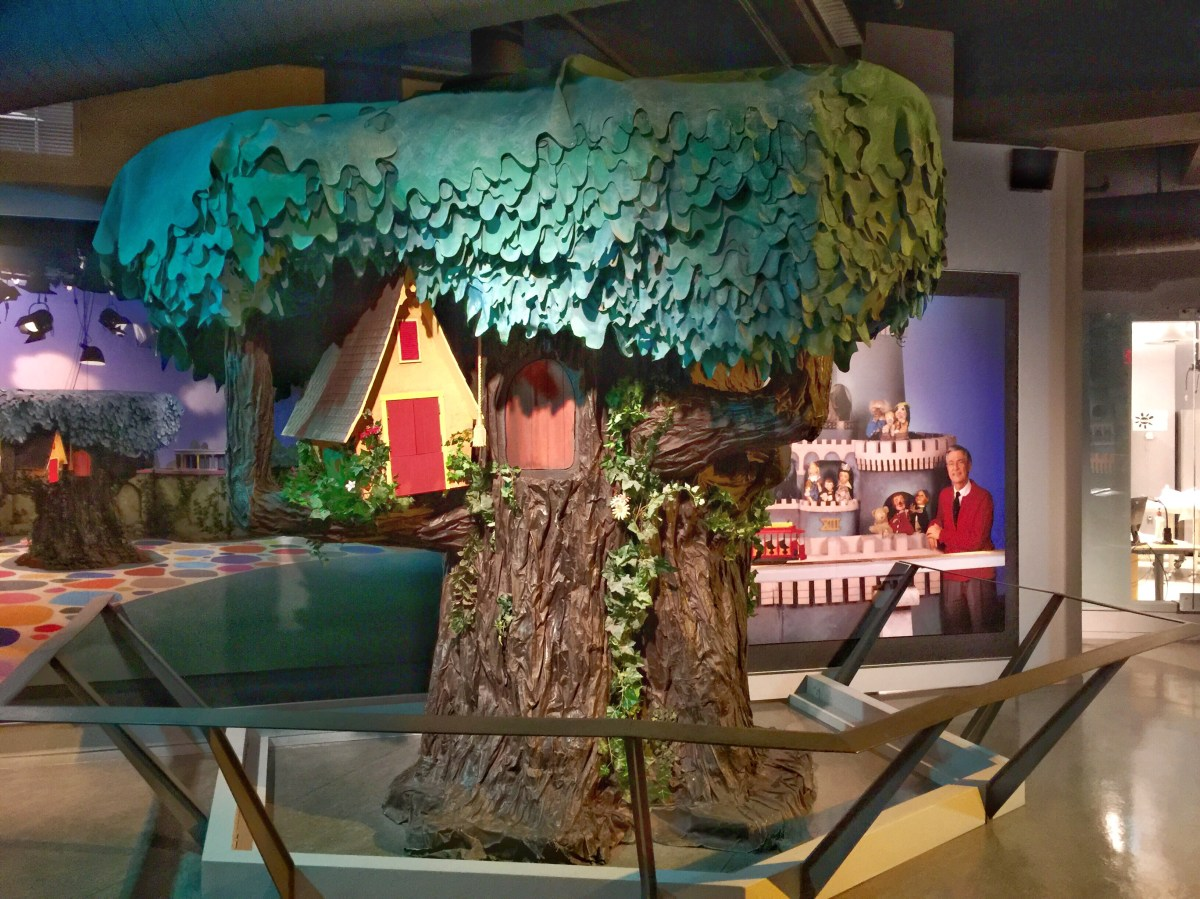 Mister Rogers Neighborhood Heinz History Center with Kids Toddling Traveler