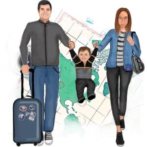 Toddling Traveler Logo