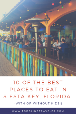 Kid-Friendly Places to Eat in Siesta Key