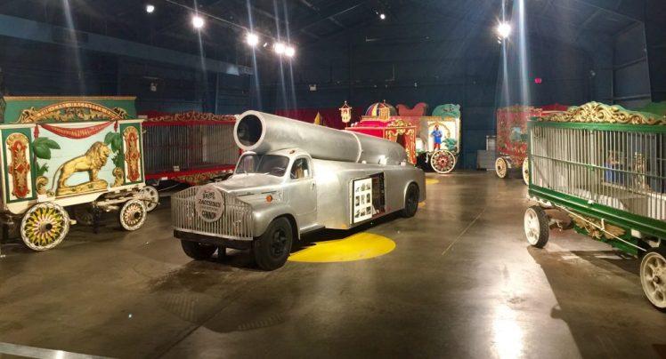 Ringling Original Circus Museum Cars