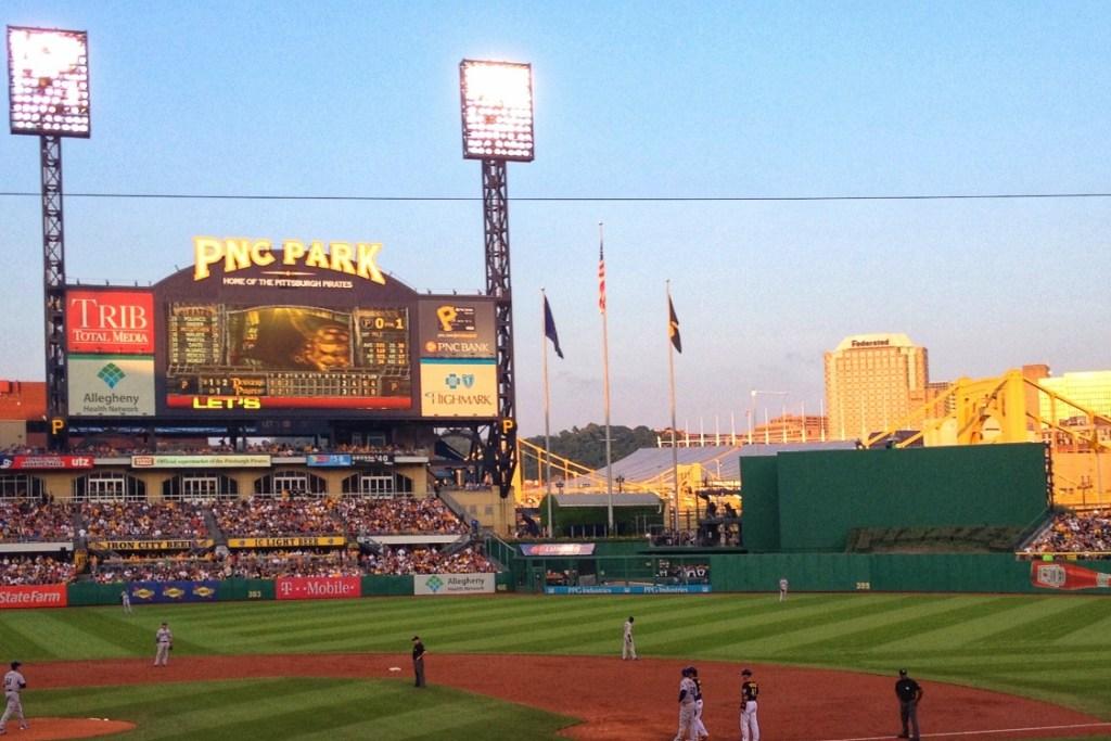 pittsburgh pirates baseball stadium