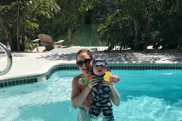 Home Rental Family Vacation in Islamorada Florida Keys with Kids Toddling Traveler