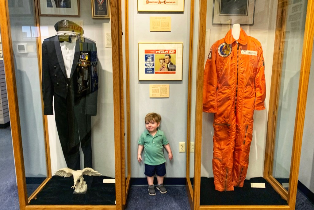 Jimmy Stewart Museum Weekend in Indiana PA with Kids Toddling Traveler