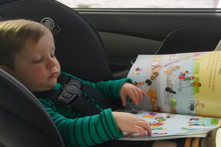 Long Car Ride with a Baby- Toddling Traveler