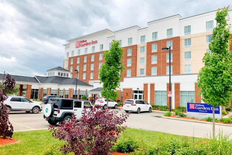 Hilton Garden Inn Indiana at IUP hotel