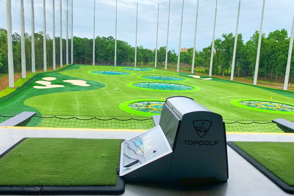 Topgolf Things to do with Kids North Myrtle Beach Toddling Traveler