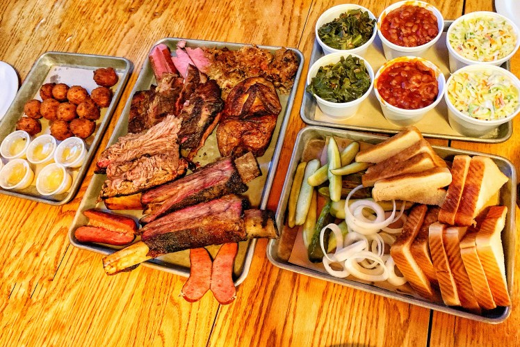 Brisket BBQ Places to Eat North Myrtle Beach Family Vacation Toddling Traveler