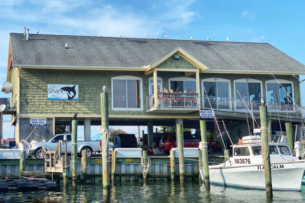 The Shark Kid-Friendly Waterfront Restaurants West Ocean City, MD Toddling Traveler