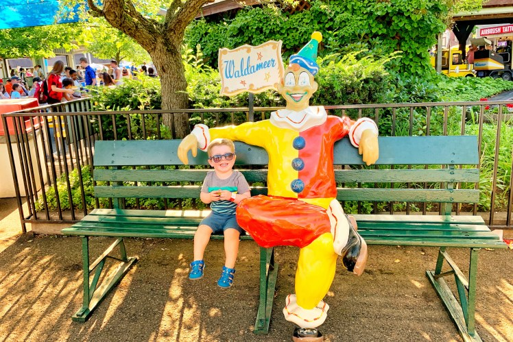 Waldameer with a Toddler Things to Do with kids in Erie Weekend Trip Toddling Traveler