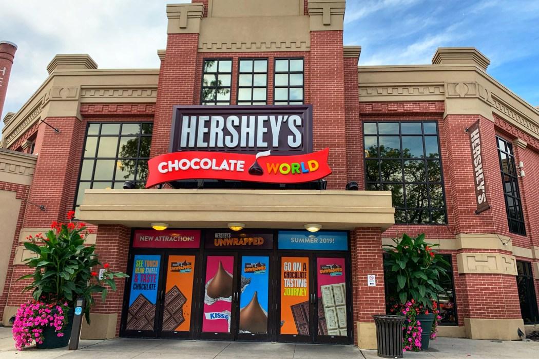Hershey Chocolate World Hershey, PA with Kids Toddling Traveler