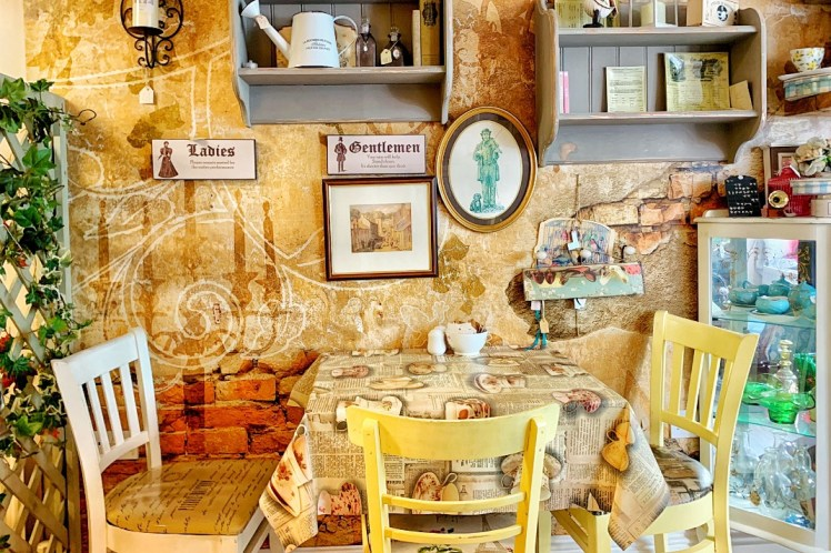 Cafe Revive Breakfast Restaurant in Cushendall Northern Ireland Road Trip with Kids Toddling Traveler