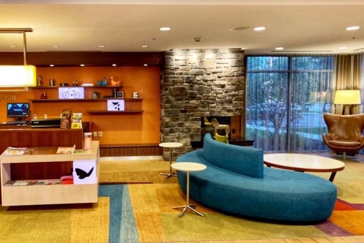 Fairfield Inn & Suites Hershey Hotel Weekend in Hershey with Kids Toddling Traveler
