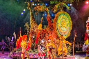 Lion King Show at Animal Kingdom with Toddlers Toddling Traveler