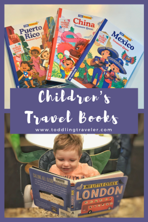 Travel Books for Children Toddling Traveler