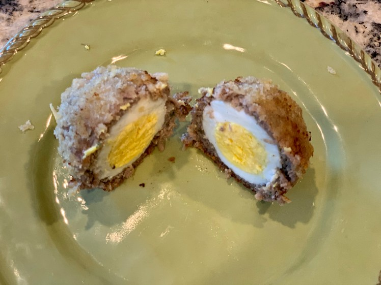 Scotch Egg Recipe Scottish Food Toddling Traveler