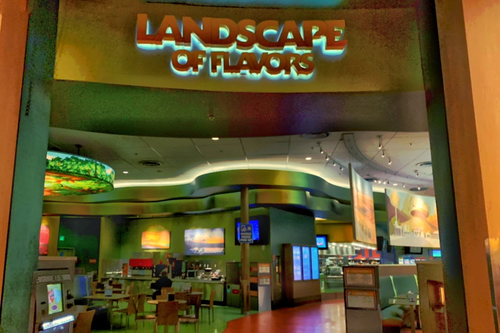 Art of Animation Resort Restaurant Landscape of Flavors Toddling Traveler