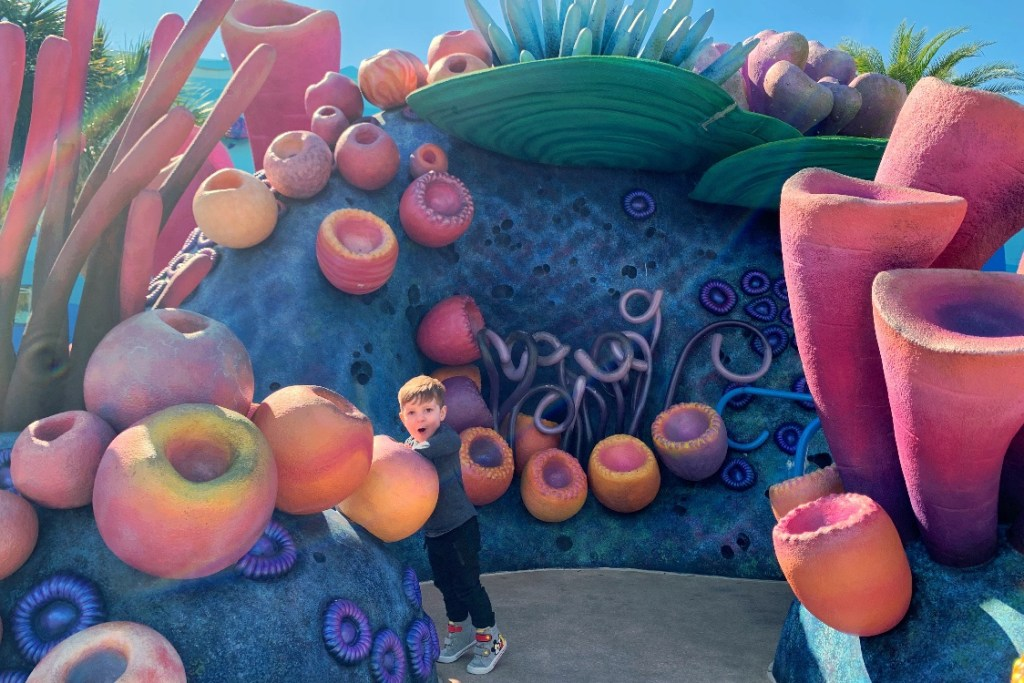 Coral Reef Playground at Art of Animation Resort Best Disney Resort for Toddlers