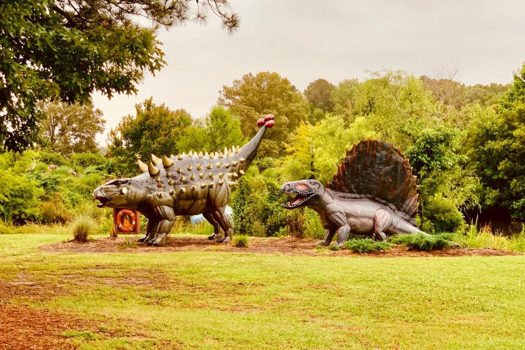 Free things to do in Virginia Beach Jurassic Park Toddling Traveler