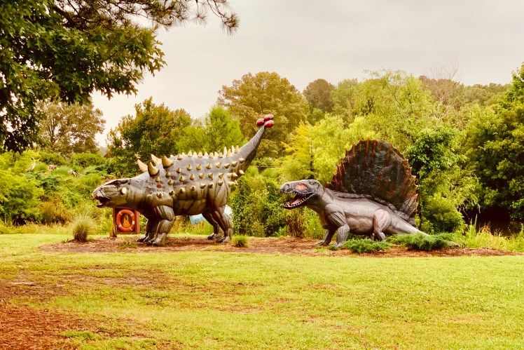 Free things to do in Virginia Beach Jurassic Park Toddling Traveler
