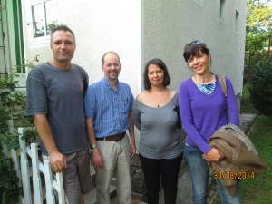 our first Bible translation training, August 2014