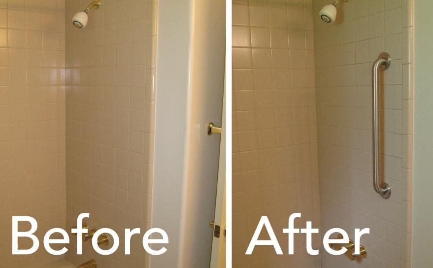 Install Grab Bars Bathroom Todds Porcelain Amp Fiberglass Repair