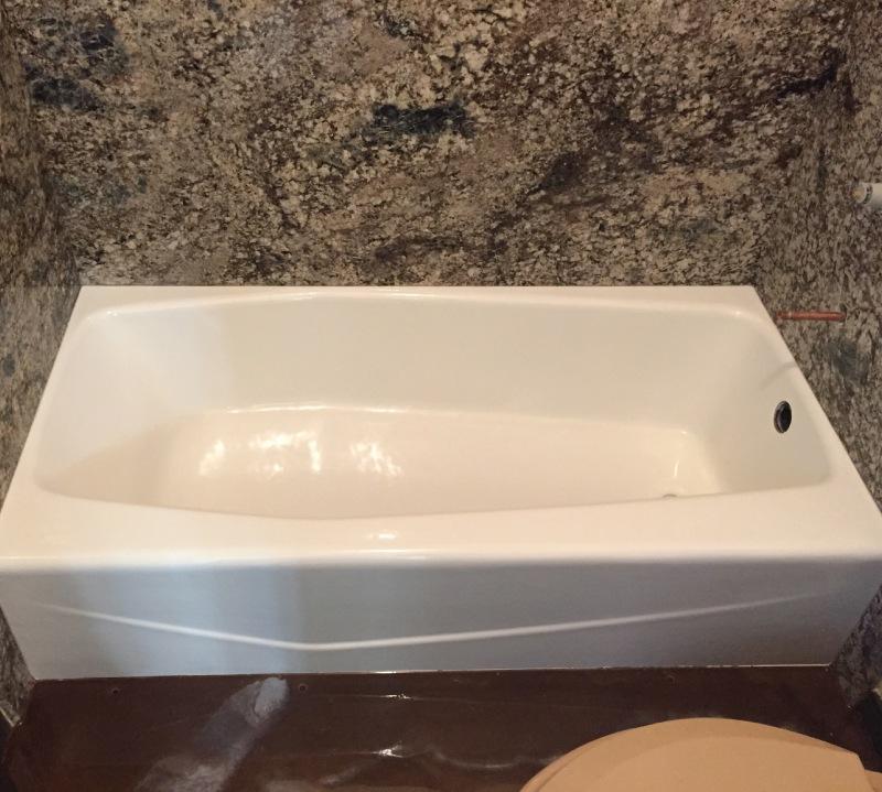 bathroom sink refinishing repair