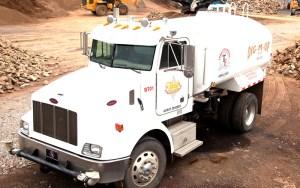 Todd's Excavating Water Truck