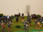 The Confederate Calvary prepares it charge.