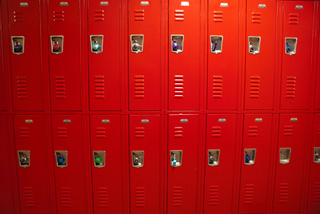 Losing lockers in schools