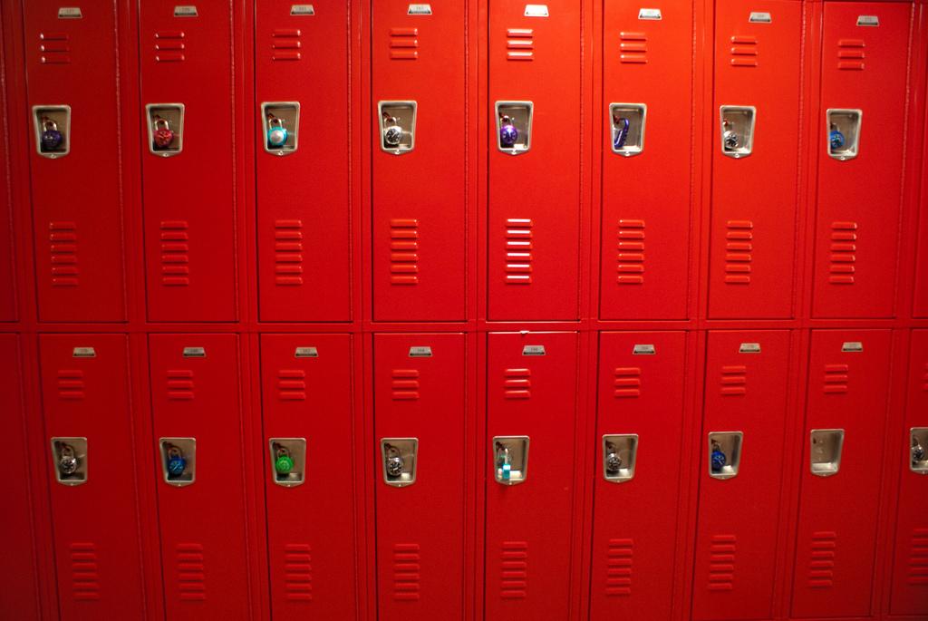 Losing lockers in schools