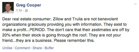 Zillow & Trulia are Media Companies