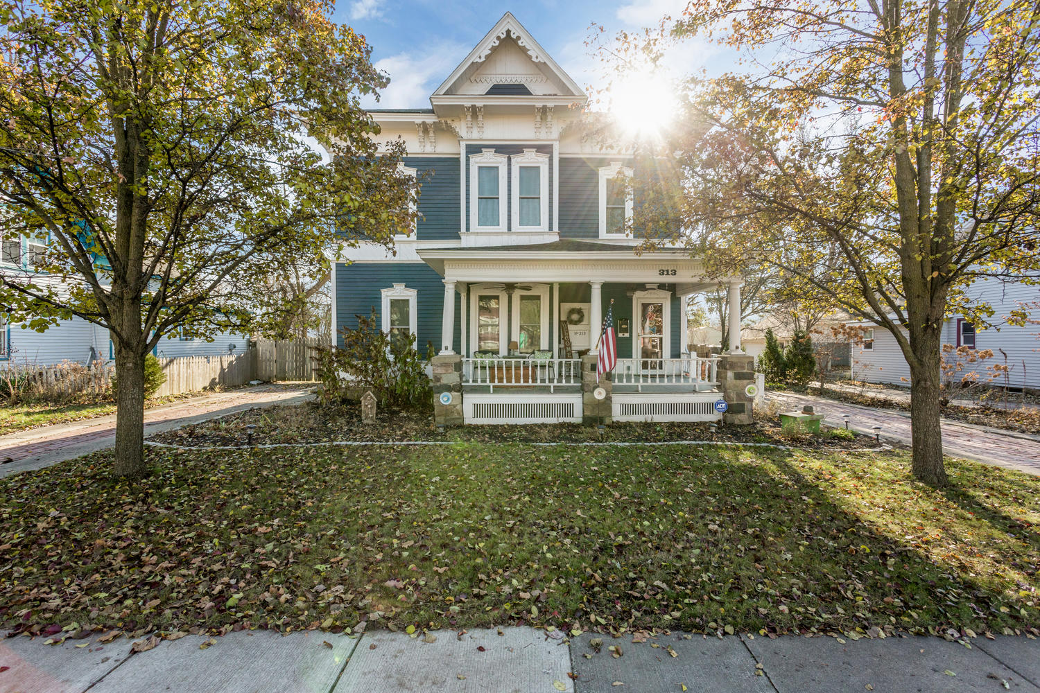 SOLD | 313 W Lake St, South Lyon, MI | Victorian Charmer