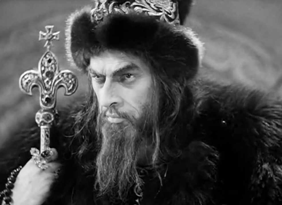 Movie Ivan the Terrible by Sergei Eisenstein