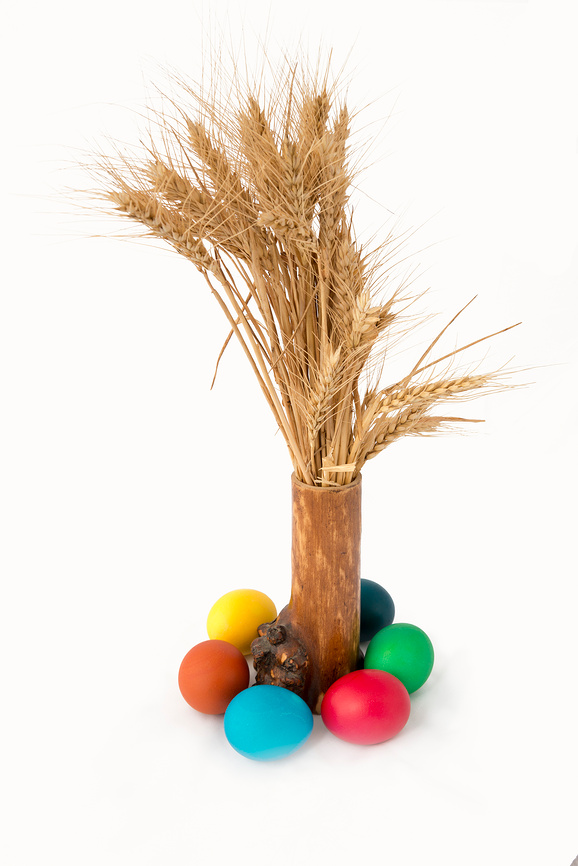 Easter eggs - the harvest