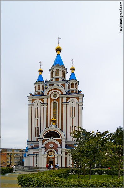 The Grado-Khabarovsk Cathedral of the Assumption of the Mother of God