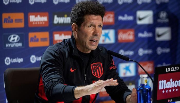 VIDEO: Las declaraciones de Simeone antes del Valencia-Atlético 1