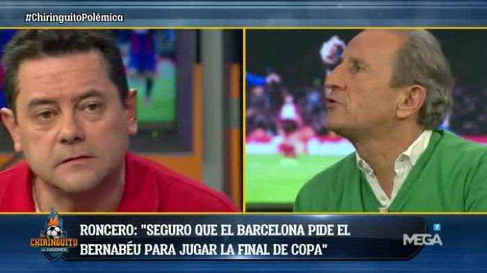 VIDEO: Peton humilla públicamente en TV a Tomás Roncero 1
