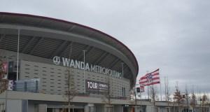El Wanda Metropolitano se prepara para su primera final   Mario Tello