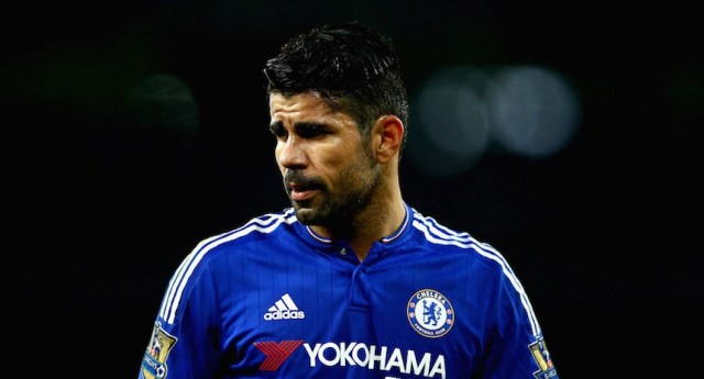 LONDON, ENGLAND - JANUARY 24:  Diego Costa of Chelsea looks on during the Barclays Premier League match between Arsenal and Chelsea at The Emirates Stadium on January 24, 2016 in London, England.  (Photo by Clive Mason/Getty Images)
