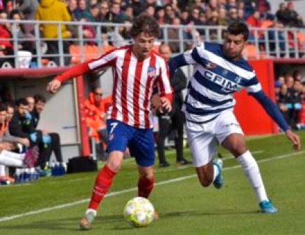 Atleti B 2 - 0 Inter de Madrid: Golpe sobre la mesa y a tiro del liderato 16