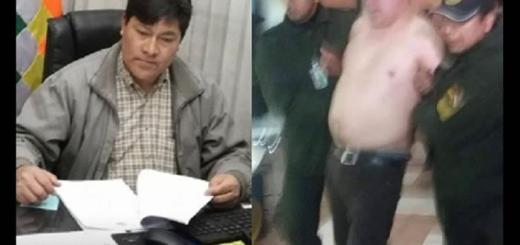 Diputado boliviano detenido en aeropuerto.